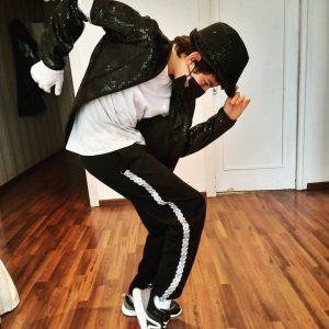 Soy mini Michael Jackson